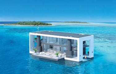 Arkup livable yachts encompass the best attributes of yachts, floating houses and waterfront villas (Credit: ARKUP)