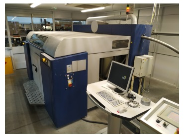 The ExOne S15 machine (Credit: University of Sheffield Advanced Manufacturing Research Centre (AMRC))
