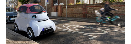 MOTIVE autonomous vehicle platform (Credit: Gordon Murray Design)