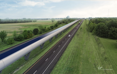 Image courtesy of Virgin Hyperloop One
