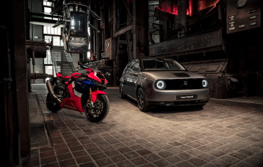 HONDA E AND FIREBLADE TAKE CENTRE STAGE AT PRESTIGIOUS RED DOT DESIGN MUSEUM