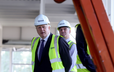 Boris Johnson visits Vaccines Manufacturing Innovation Centre (Credit: Andrew Parsons / No 10 Downing Street)