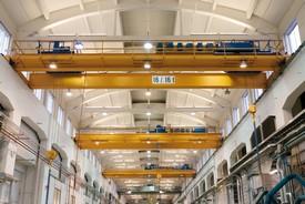 ABB Drives and Motors - Cabinet designed crane drive lifts