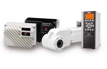 Some of the products Danfoss will be showing on its stand at Drives & Controls 2012
