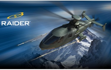 Sikorsky Aircraft's next-generation S-97 Raider light tactical helicopter is at the advanced design stage and is expected to make its maiden flight in 2014