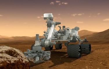 This artist's concept features NASA's Mars Science Laboratory Curiosity rover (photo courtesy of NASA)