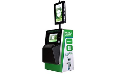 ATM' takes old phones for cash, charitable donation or recycling