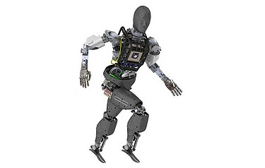 A rendering of the GFE robot being developed for the DARPA Robotics Challenge by Boston Dynamics