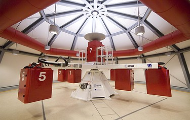 The Large Diameter Centrifuge at ESA's European Space Research and Technology Centre (ESTEC) at Noordwijk in the Netherlands