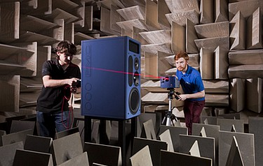 PL's collaboration with PMC has provided vital industrial  input on the design and development processes of high-end  loudspeakers, honing the experimental technique into  a valuable industrial tool
