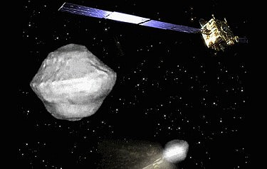ESA's AIDA mission now has a target: asteroid Didymos (image courtesy of the European Space Agency)