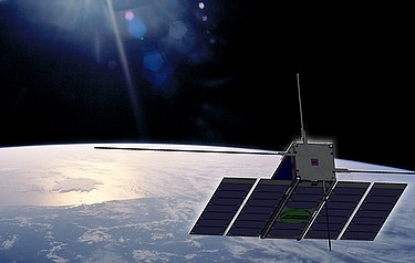 An artist's impression of Ops-Sat (image courtesy of ESA)