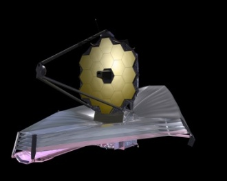 September 2009 artist concept of the James Webb Space Telescope (photo credit: NASA)