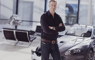 Marek Reichman, Director of Design for Aston Martin