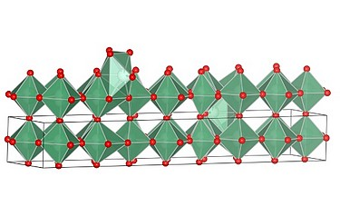 Illustration of a form of nobium oxide synthesised by UCLA researchers (image: UCLA/Nature Materials)