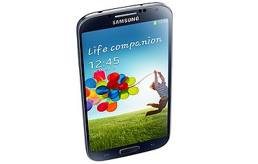 The Samsung Galaxy S4 mobile phone
