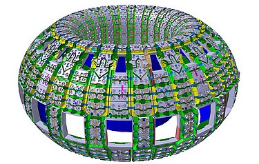 The ITER blanket system provides the physical boundary for the plasma