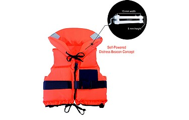 Roke's lifejacket application for the AGITATE wireless tracking device