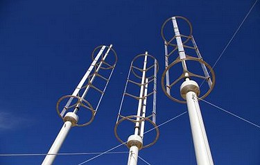 Numerical Investigation of Vertical-Axis Wind Turbines at Low Reynolds Number