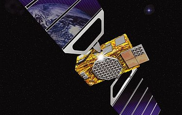 An artist's impression of a Galileo satellite (image: ESA)