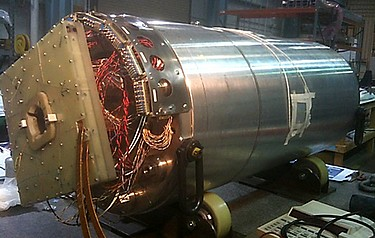 HQ02a is a superconducting quadrupole magnet made from high performance niobium tin that will play a key role in developing a new beam focusing system for CERN's Large Hadron Collider