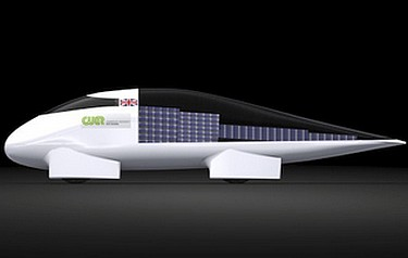 The CUER entrant for the World Solar Challenge (image: Science Museum, London)