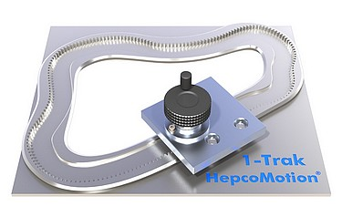 HepcoMotion - Complete freedom in 2D bearing track design