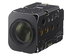 The high definition FCB-EV7500, part of Sony's 'enhanced visibility' series of camera modules