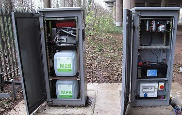 The Fuel Cell (left Cabinet) Essentially Acts As A Self Contained Battery  Charger
