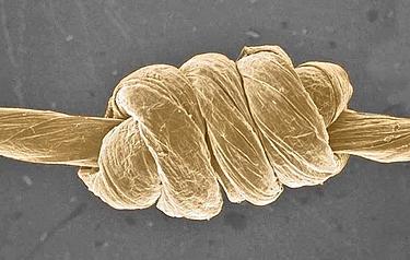 Flexible graphene fibre yarns have almost Kevlar-like strength