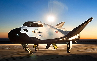 Dream Chaser at NASA's Dryden Flight Research Centre