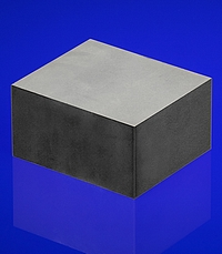 Morgan is now manufacturing what are believed to be the world's thickest piezoelectric ceramic blocks