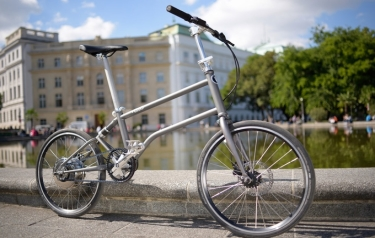 The First 100 Self Charging Folding E Bike