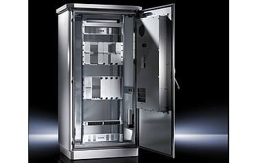 Rittal Has A Range Of Outdoor Enclosures Based On Central Stainless Steel Frame Clad With Inner And Outer Panels That Are Manufactured From Aluminium For